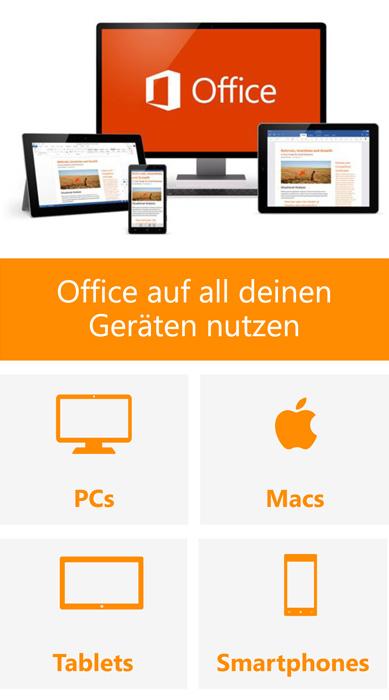 Office auf allen Geräten